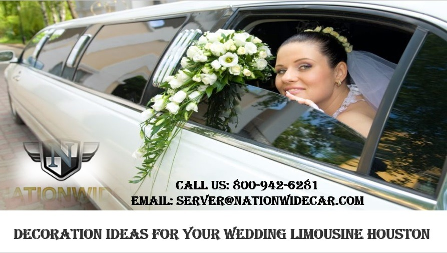 Decoration Ideas for Your Wedding Limousine Houston