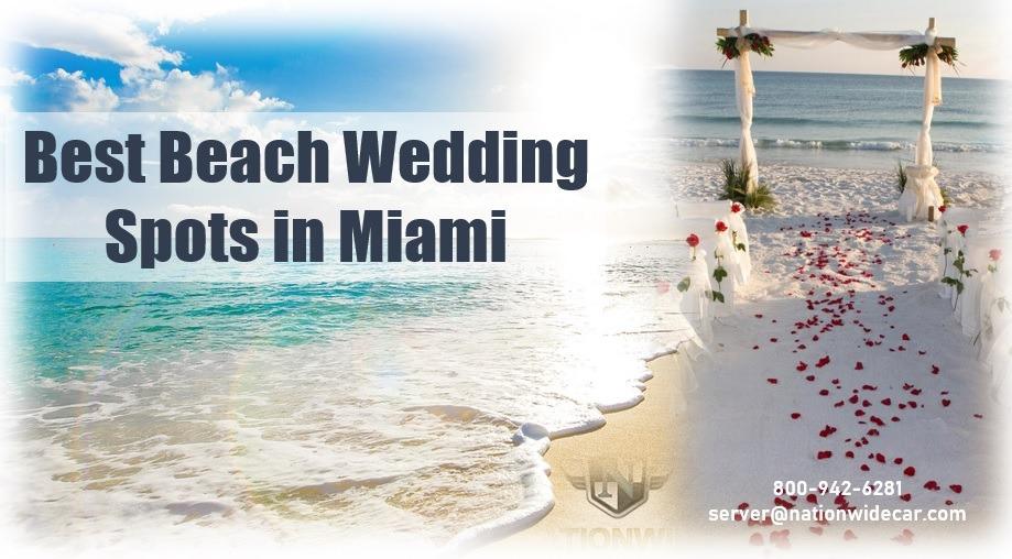 Best Beach Wedding Spots in Miami