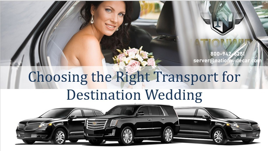 Choosing the Right Transport for Destination Wedding