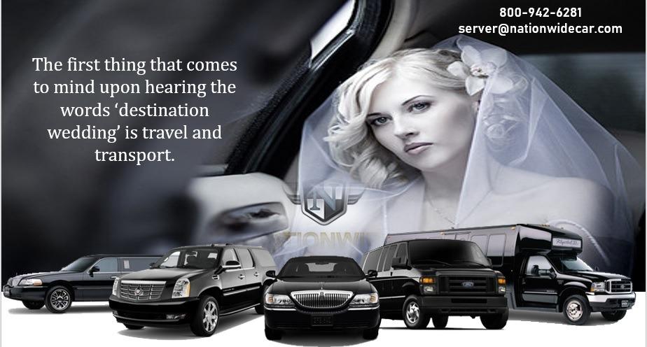 Right Transport for Destination Wedding