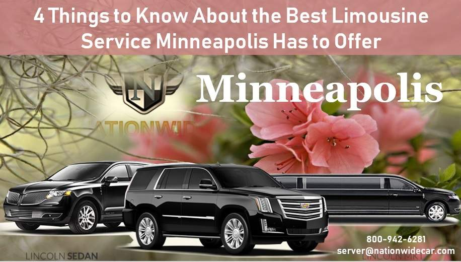 4 Things to Know About the Best Limousine Service Minneapolis Has to Offer