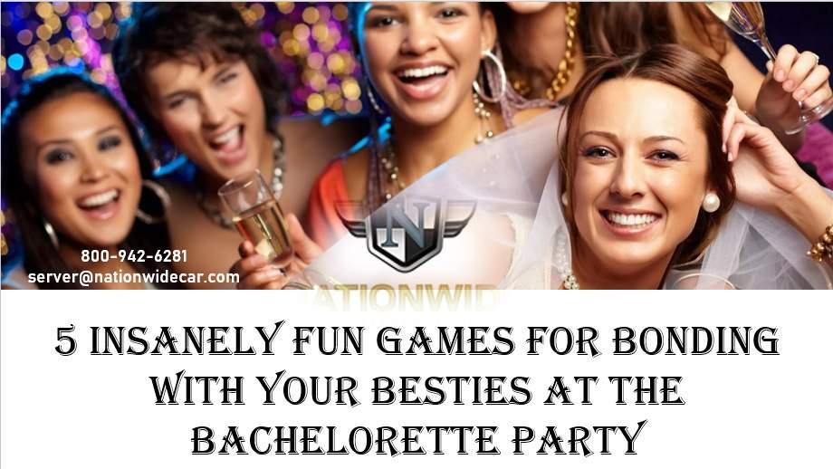 5 Truly Fun Bachelorette Party Games