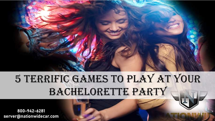 5 Terrific Games to Play at Your Bachelorette Party