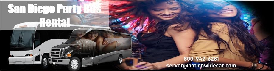 San Diego Party Bus Rentals