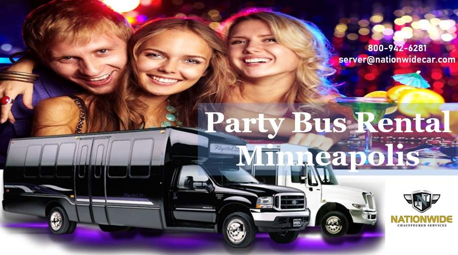 Minneapolis Party Bus Rental