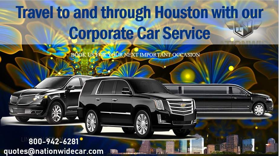 Travel to and through Houston with our Corporate Car Service