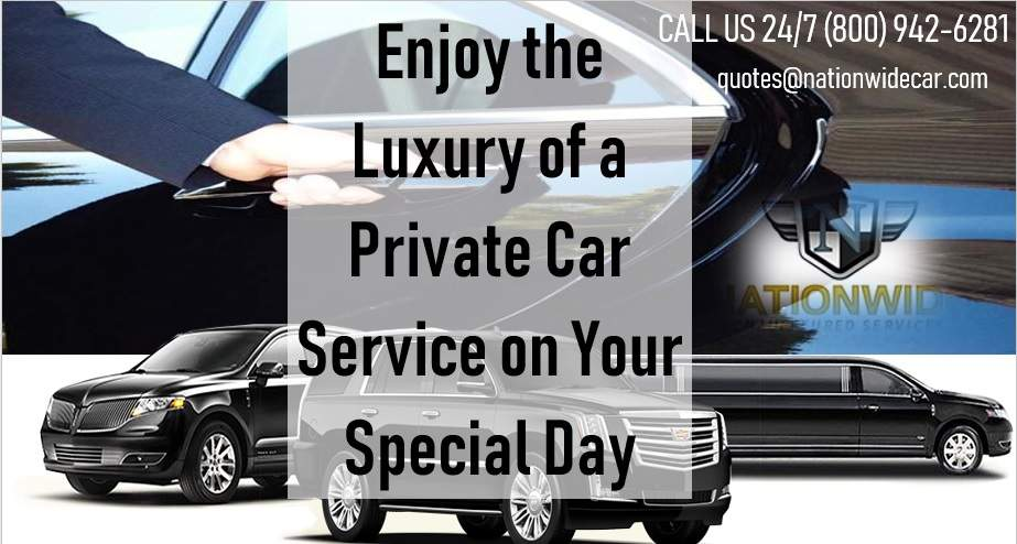 Enjoy the Luxury of a Private Car Service on Your Special Day