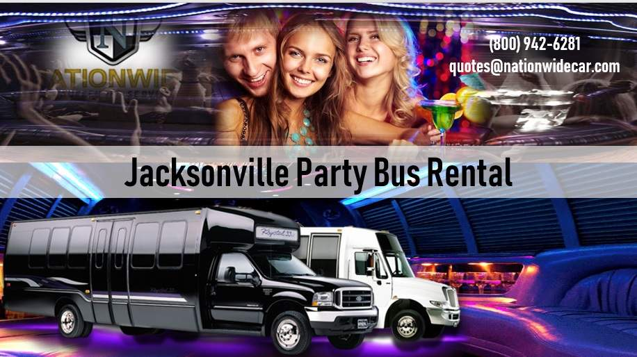 Jacksonville Party Bus