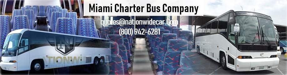 Miami Charter Bus Rental Service