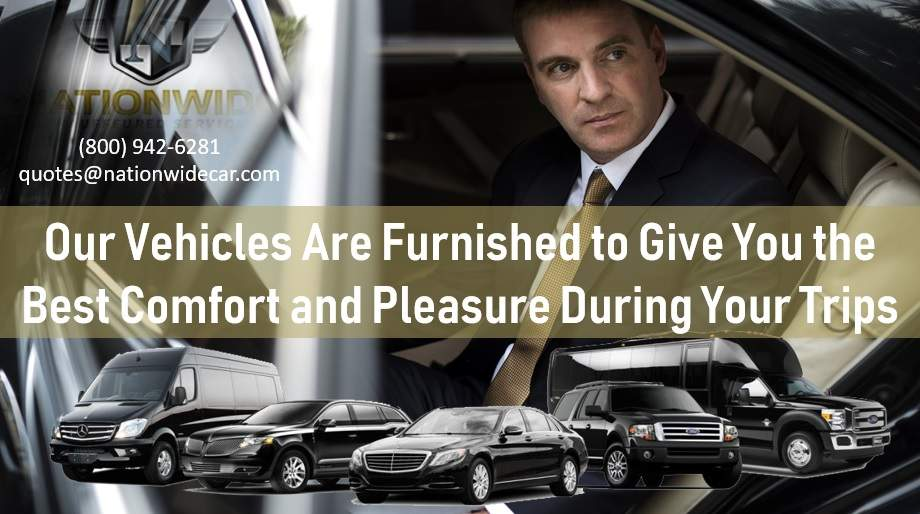 Our Vehicles Are Furnished to Give You the Best Comfort and Pleasure During Your Trips