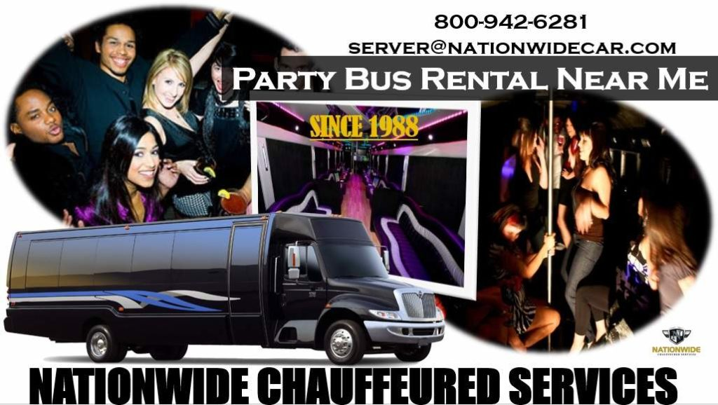 Party Buses Near Me