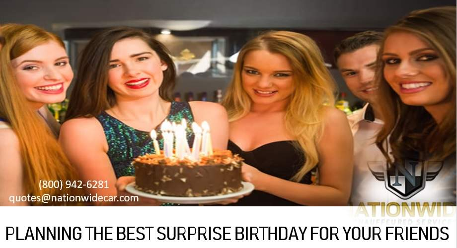 Planning the Best Surprise Birthday for your Friends