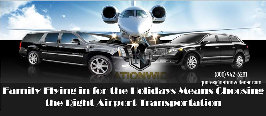 Family Flying in for the Holidays Means Choosing the Right Airport Transportation