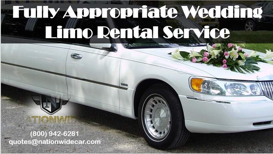 Fully Appropriate Wedding Limo Rental Service