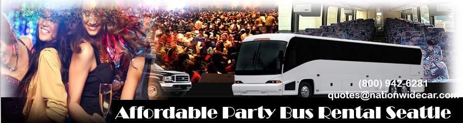 Cheap Party Bus Rentals Seattle WA