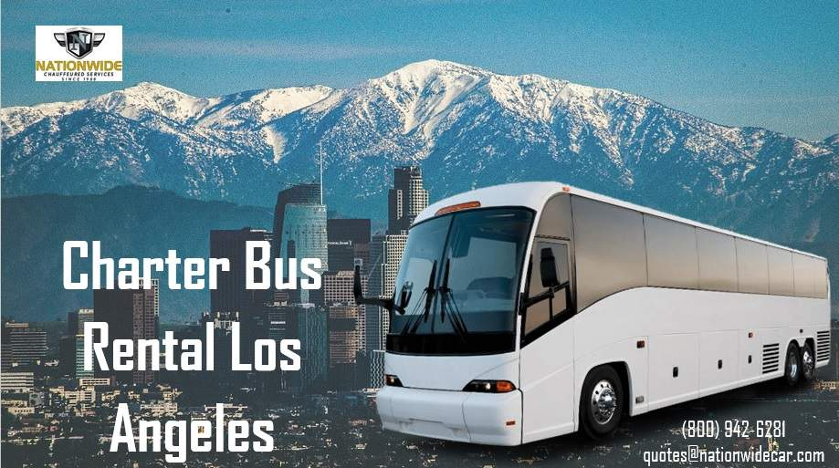 Charter Buses Los Angeles