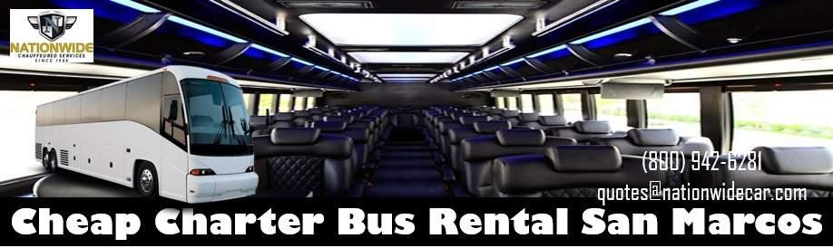 Coach Bus Rental San Marcos