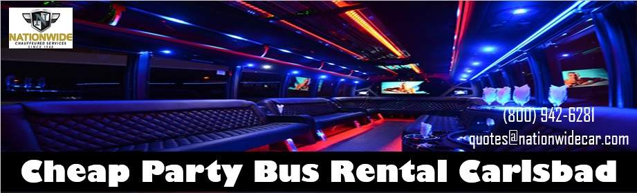 Affordable Party Buses in Carlsbad