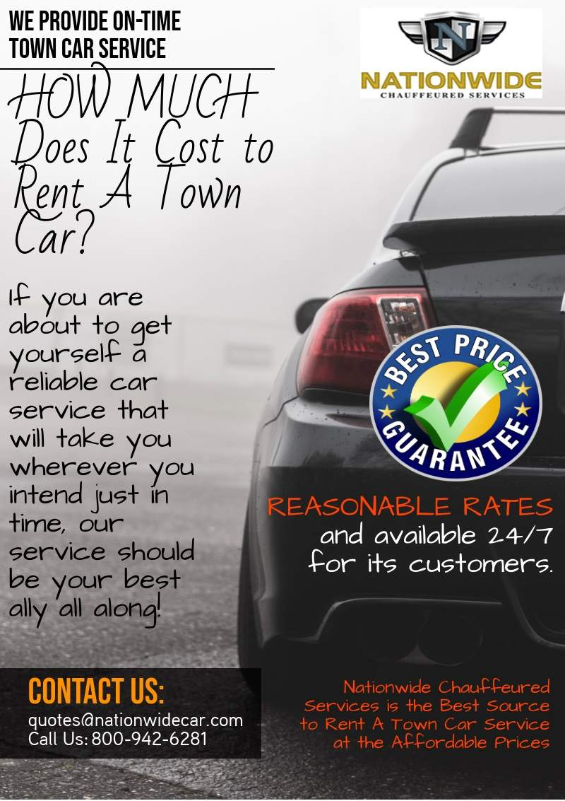 How Much Does It Cost to Rent A Town Car Service