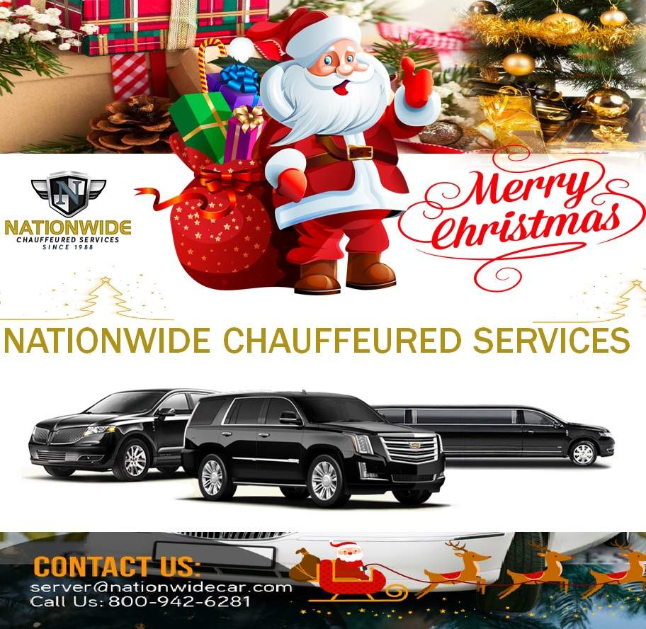 Merry Christmas from Nationwide Chauffeured Services