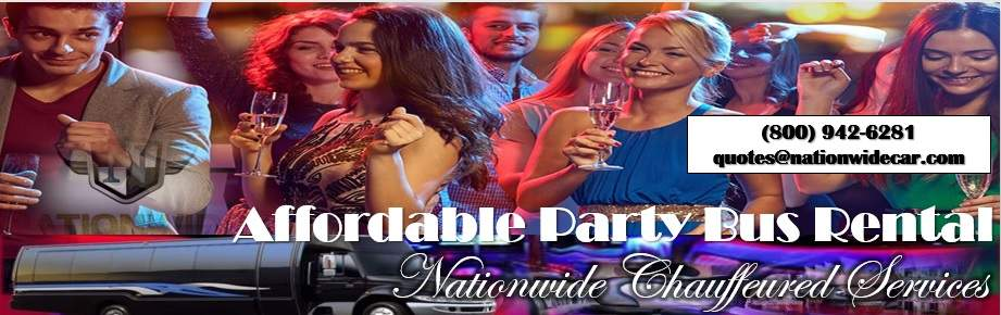 Affordable Party Bus Rentals