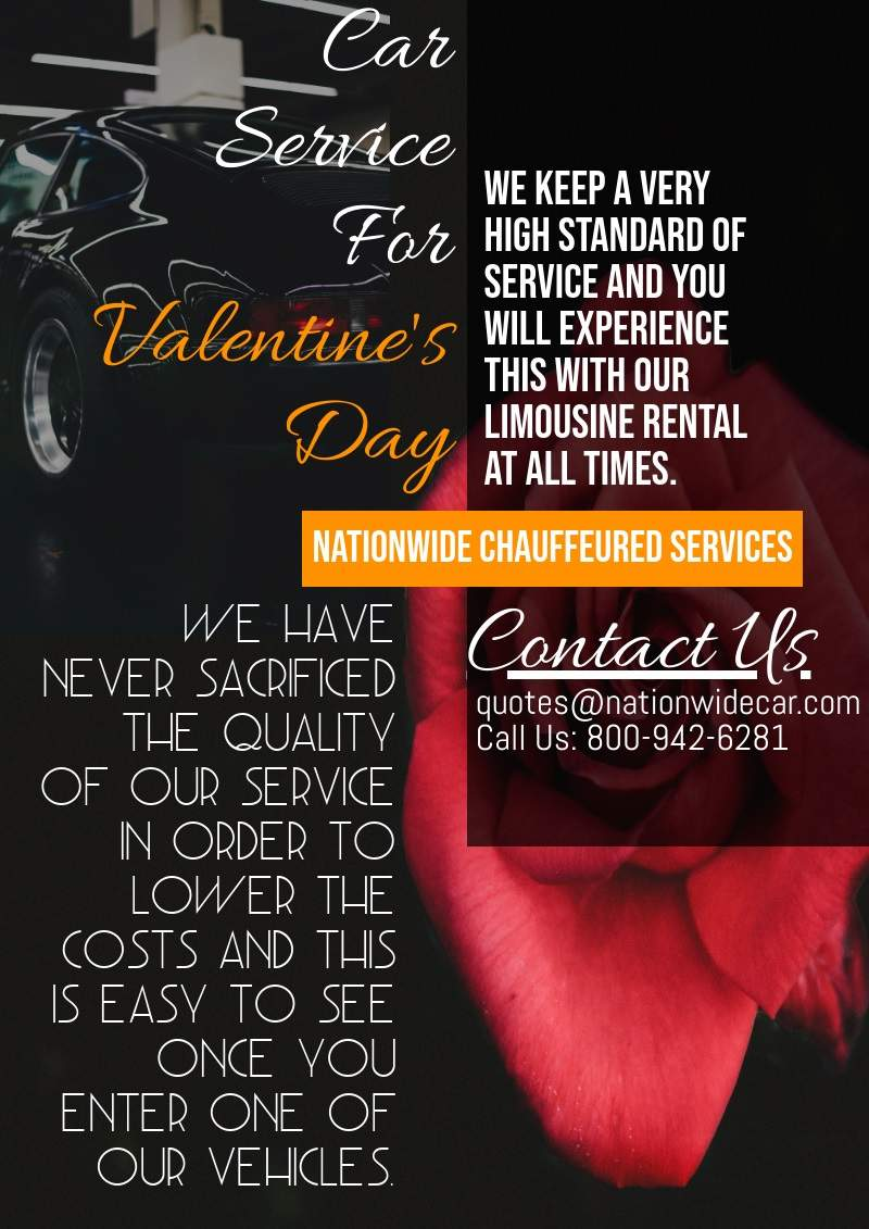 Car Services For Valentine's Day