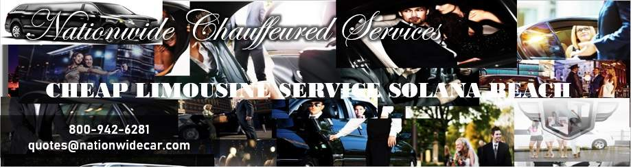 Affordable Limo Service Solana Beach
