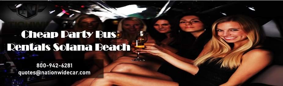 Solana Beach Charter Bus Rental