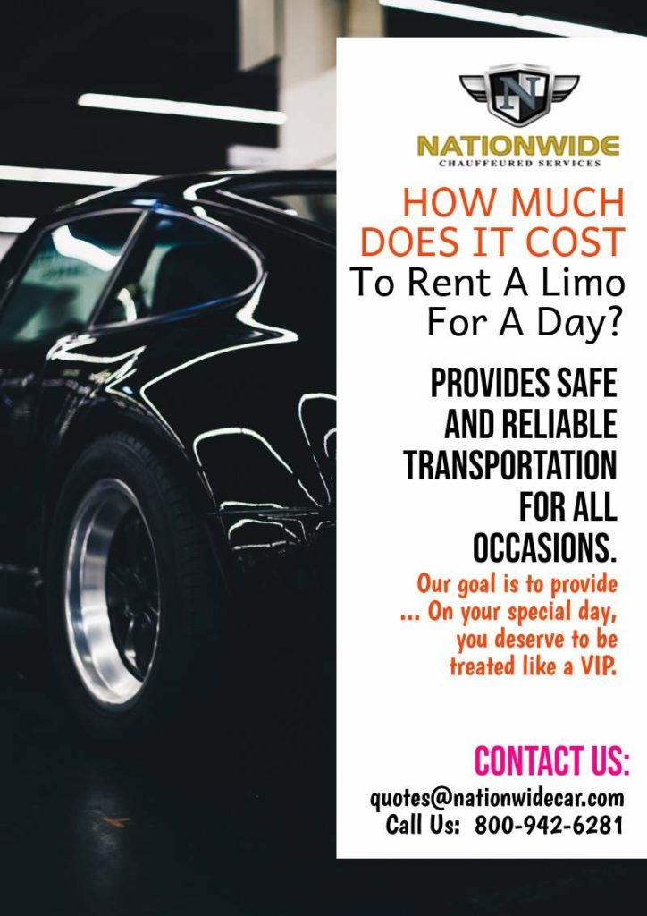 How Much Does It Cost To Rent A Limo For A Day