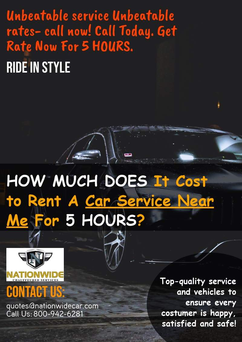 How Much Does It Cost To Rent A Car Service Near Me For 5