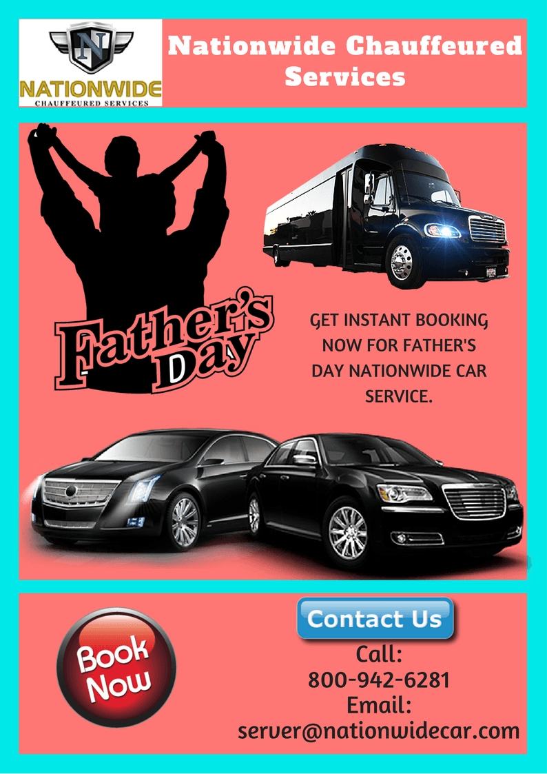 Nationwide Car Services for Fathers Day