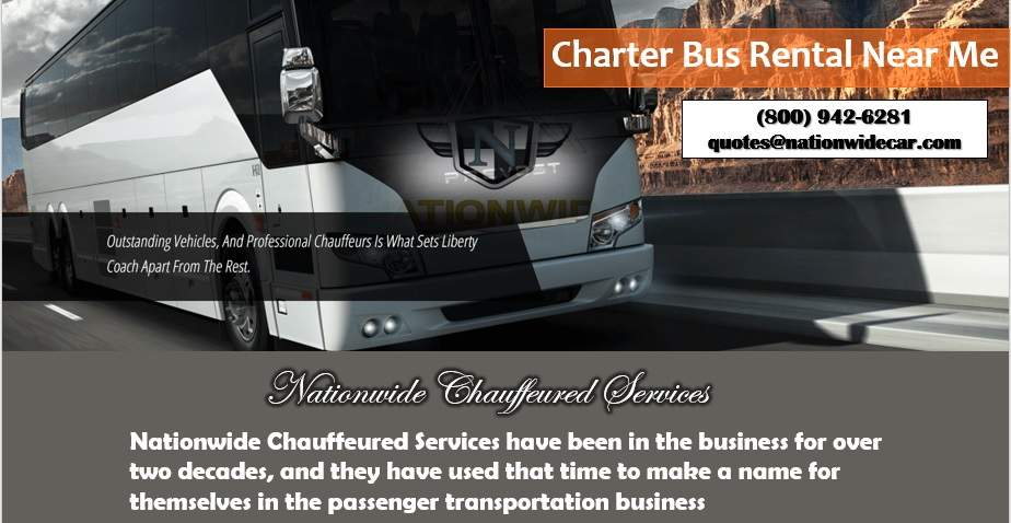 Charter Buses Near Me