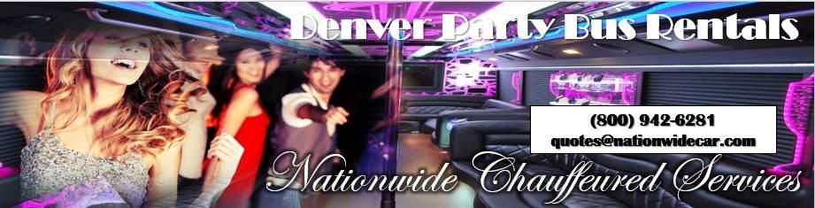 Denver Party Bus Rental