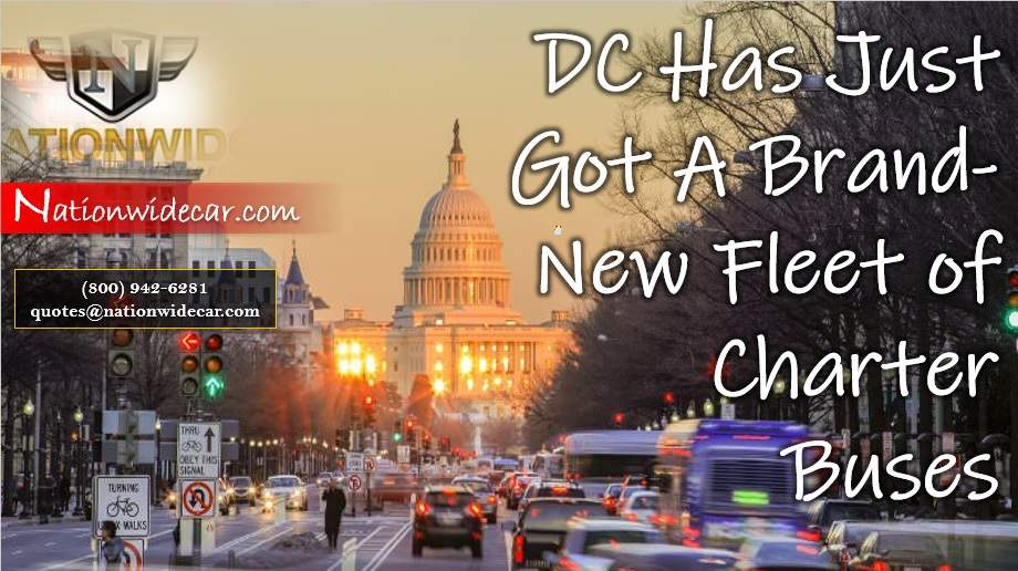 DC Has Just Got A Brand-New Fleet of Charter Buses