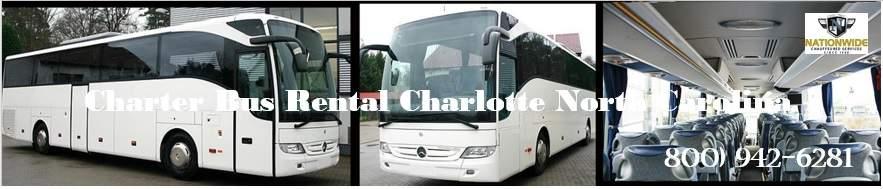 Charter Bus Rental Charlotte