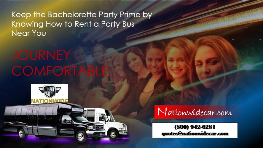 Keep the Bachelorette Party Prime by Knowing How to Rent a Party Bus Near You