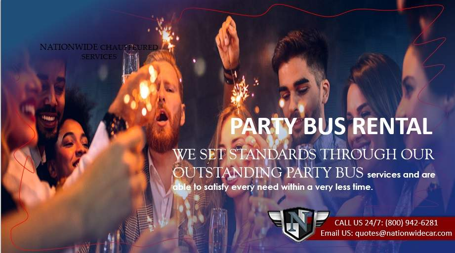 PARTY BUS RENTALS for Nightclub