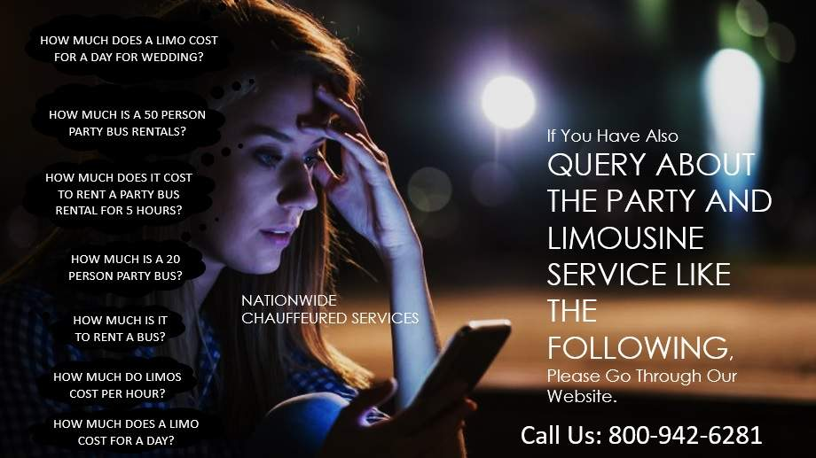 QUERY ABOUT THE PARTY BUS AND LIMOUSINE SERVICES