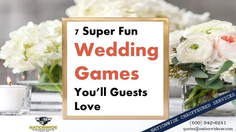 7 Super Fun Wedding Games You'll Guests Love