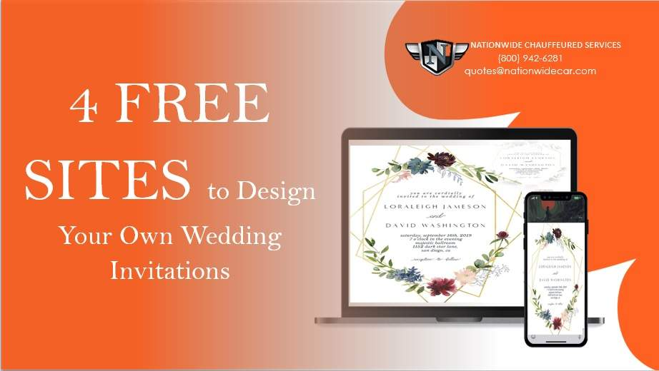 4 Free Sites to Design Your Own Wedding Invitations