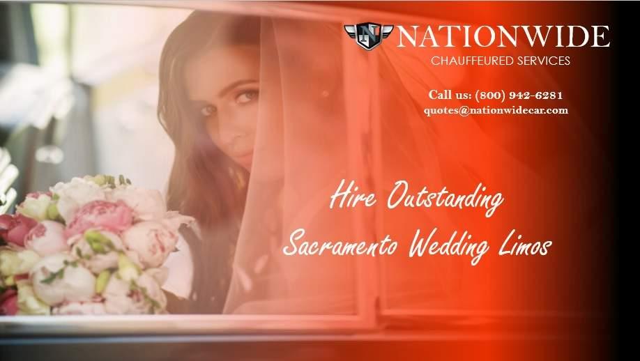 Hire Outstanding Sacramento Wedding Limos