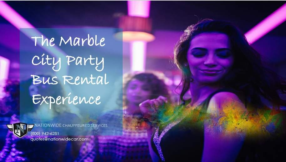 The Marble City Party Bus Experience