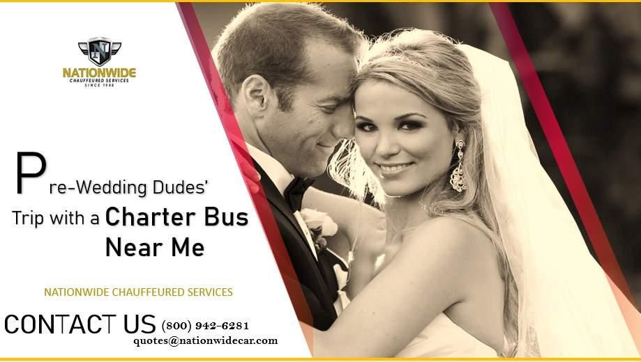 Pre-Wedding Dudes' Trip with a Charter Bus Near Me