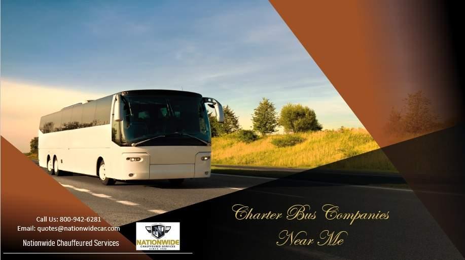 Charter Bus Company Near Me