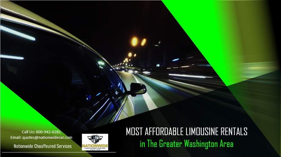 Most Affordable Limousine Rentals in The Greater Washington Area