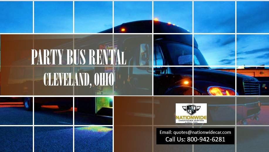 Cleveland Party Bus Rental