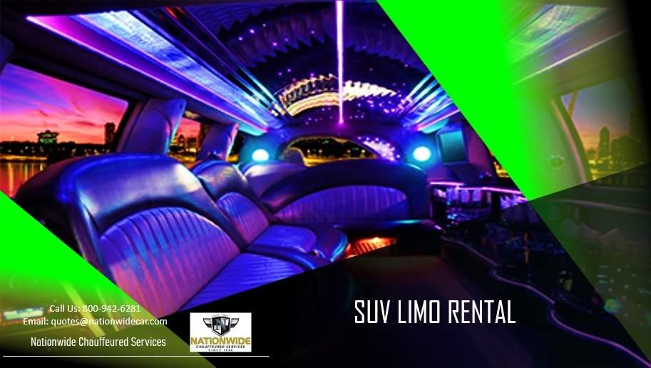 SUV Limo Rentals