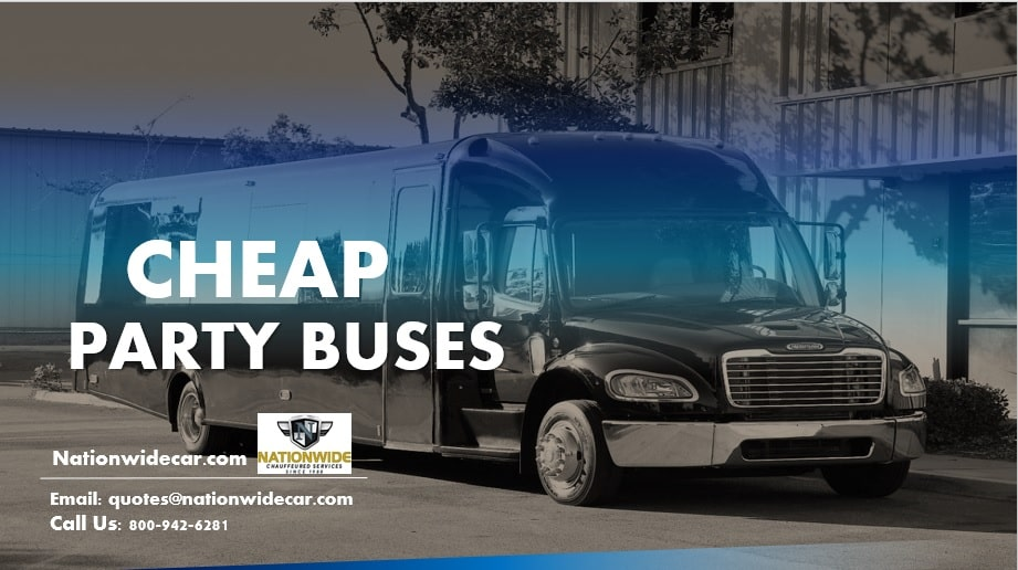 Cheap Party Buses