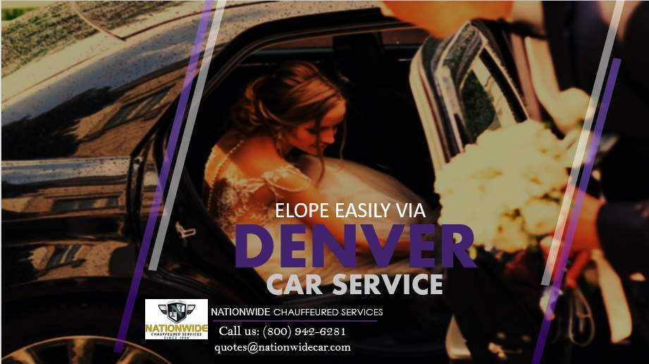 Elope Easily via Denver Car Service