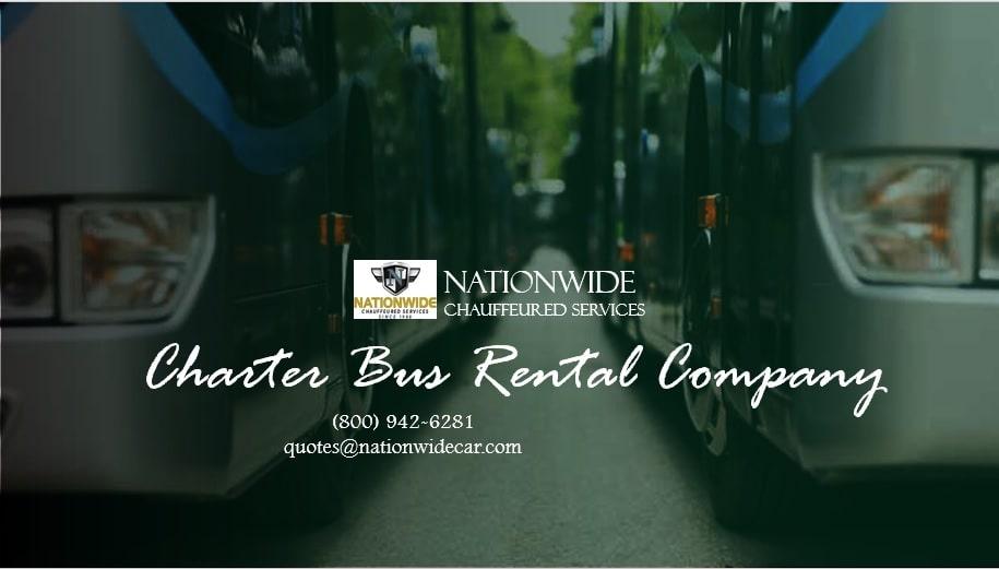 Charter Bus Rentals Company